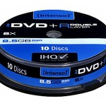 Intenso DVD+R Double Layer 8,5GB/240 Min 10er Spindel