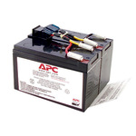 APC Replacement Battery Cartridge #48 - USV-Akku - 1x Bleisäure - RBC48