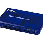 Hama USB 2.0 30 in 1 CardReaderWriter - Kartenleser - 35-in-1 ( CF I, CF II, Memory Stick, MS PRO, Microdrive, MMC, SD, SM, MS Duo, xD, MS PRO Duo, RS