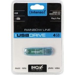 Intenso USB Stick 4GB 3502450 Rainbow Line USB 2.0
