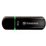Transcend USB Stick 16GB TS16GJF600 JetFlash 600 USB 2.0 Schwarz/Grün