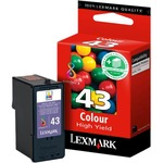 Original Lexmark 18YX143E Tinte color