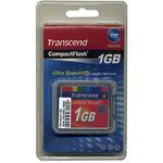 Transcend CompactFlash (CF Typ 1 / CF+) 1GB TS1GCF133