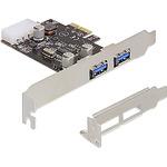 DeLock PCI Express card > 2x USB 3.0 - USB-Adapter - PCI Express x1 89243