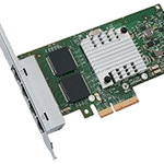 Intel Ethernet I340 Server Adapter - Netzwerkkarte - PCI Express 2.0 x4 Low Profile E1G44HTBLK