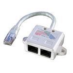 Value ISDN-Splitter 12.99.0580 17 cm Weiß