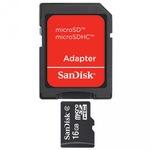 SanDisk SD (Secure Digital) 16GB SDSDQB-016G-B35 microSDHC Class 2 schwarz