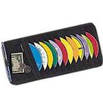 Case Logic CD Visor CDV 12 - CD-Schutzhülle für CDs/DVDs - 12 CDs/DVDs CDV12