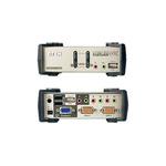 Aten KVM-/Audio-/USB-Switch 2-port Desktop