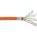 Digitus Bulkkabel SFTP-Kabel CAT 7 DK-1741-VH-D-5 500 m Orange