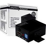DIGITUS HIGH SPEED REPEATERVIDEOAUFLOESUNG 1080P, BANDBREITE 225MHZ MIT WANDBEFESTIGUNG DS-55901