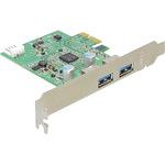 DeLock PCI Express card > 2x USB 3.0 - USB-Adapter - PCI Express x1 89241