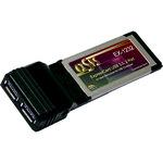 Exsys EX 1232 - USB-Adapter - ExpressCard/34 EX-1232