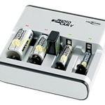 Ansmann PhotoCam V - Batterieladegerät 4xAA/AAA/C/D, 1x9V 5207473