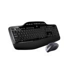 Logitech Tastatur-und-Maus-Set Wireless Desktop