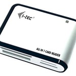 I-Tec USB 2.0 All-in-One Reader - Kartenleser - All-in-one ( CF II, MS, MS PRO, Microdrive, MMC, SD, MS Duo, xD, MS PRO Duo, CF, RS-MMC, TransFlash, M