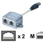 Assmann Netzwerkadapter STP-Kabel CAT 5e AT-AG CX2
