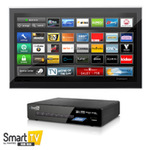 FANTEC Smart TV Hub Box - Digitaler Multimedia-Receiver - Piano Black 1476