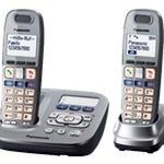 Panasonic KX-TG6592GM - Großtastentelefon mit Anrufbeantworter und SOS Funktion- DECTGAP - Graphit KX-TG6592GM