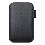Samsung EF-C968LBECSTD - Tasche für Mobiltelefon - Leder EF-C968LBECSTD