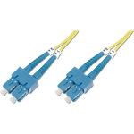 Digitus Patch-Kabel Glasfaser DK-2922-02 2 m Gelb