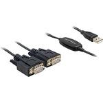 Delock Kabel USB / seriell 61886 1.4 m