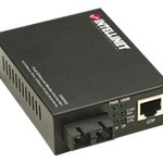 IC Intracom Intellinet 506502 Fast Ethernet Media Converter - Medienkonverter - 10Base-T, 100Base-FX, 100Base-TX 506502