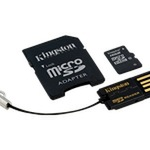 Kingston Multi-Kit / Mobility Kit MBLY10G2/16GB - Flash-Speicherkarte ( microSDHC/SD-Adapter inbegriffen ) - 16 GB MBLY10G2/16GB