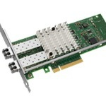 Intel Ethernet Server Adapter X520-SR2 - Netzwerkkarte - PCI Express 2.0 x8 Low Profile E10G42BFSR