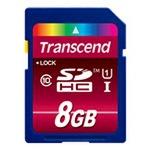 Transcend Ultimate Flash-Speicherkarte 8GB TS8GSDHC10U1