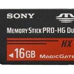 Sony Flash-Speicherkarte MSHX16A - 16 GB - Memory Stick PRO-HG Duo MSHX16A