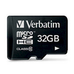 Verbatim Flash-Speicherkarte 44013 - 32 GB - Class 10 - microSDHC 44013