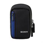 Sony LCS CS2 - Weiche Tasche für Digitalkamera - für Cyber-shot DSC-S5000, T110, TX55, TX7C, W520, W610, W620, W630, W650, W670, WX30, WX50 LCSCS2B.SY