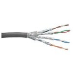InLine Bulkkabel SSTP-Kabel CAT 6 76499 100 m Grau