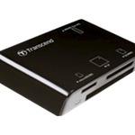 Transcend P8 - Kartenleser - 13 in 1 ( CF I, CF II, Memory Stick, MS PRO, Microdrive, MMC, SD, MS Duo, MS PRO Duo, miniSD, RS-MMC, TransFlash, MMCmobi