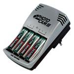 Ansmann Photo Cam Power-Set III - Batterieladegerät 4xAA/AAA - enthaltene Batterien: 4 x AA Typ NiMH 2700 mAh 5007093