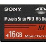 Sony Flash-Speicherkarte MSHX16B - 16 GB - Memory Stick PRO-HG Duo MSHX16B