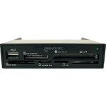Revoltec Procyon 1.5 Retail - Kartenleser - 30-in-1 ( CF I, CF II, CF Ultra II, CF Ultra DMA, CF Extreme, Microdrive, SD, SDHC, miniSD, mini SDHC, MMC