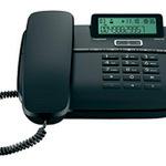Gigaset DA610 - Telefon mit Schnur mit Anruferkennung - Schwarz S30350-S212-B101