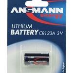 Ansmann CR123A - Kamerabatterie CR123A Li 5020012