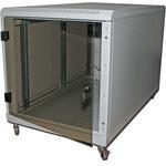TRITON Delta C - Rackmontage-Schrank für Netzwerkgerät - RAL 7035 RCA-12-A68-CAX-A1