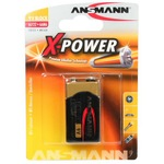 Ansmann X-POWER 9 V-Block - Batterie 1 x 6LF22 Alkalisch 5015643