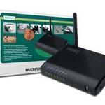 DIGITUS Wireless Multifunction Network Server DN-13023 - Server für kabellose Geräte - 4 Anschlüsse DN-13023