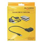 Delock Converter USB 3.0 zu SATA - Speicher-Controller - SATA 6Gb/s - 61882