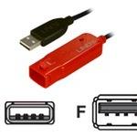 Lindy USB-Verlängerungskabel 42780 8 m