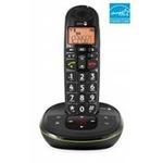 Doro PhoneEasy 105wr - Schnurlostelefon mit Anrufbeantworter + Anruferkennung - DECTGAP 380102