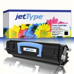 jetType Toner kompatibel zu Lexmark E360H11E