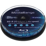 MediaRange BD-R 25GB 10er Spindel MR495