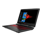 HP OMEN by HP 17-an101ng - Core i7 8750H / 2.2 GHz - Win 10 Home 64-Bit - 8 GB RAM - 128 GB SSD NVMe + 1 TB HDD - 43.9 cm (17.3