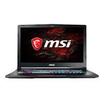 MSI GE63 8SF 047 Raider RGB - Core i7 8750H - FreeDOS - 8 GB RAM - 256 GB SSD NVMe + 1 TB HDD - 39.6 cm (15.6
